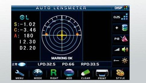 utilisation du frontofocometre D-903