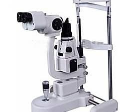 Lampe a fente kj5x pour opticien et ophtalmologue