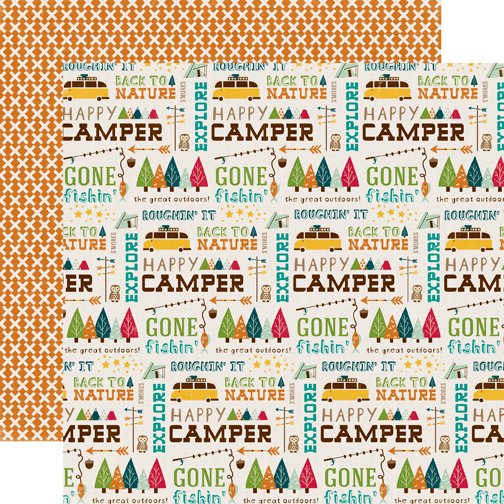 Collections Echo Park Paper Co Happy Camper