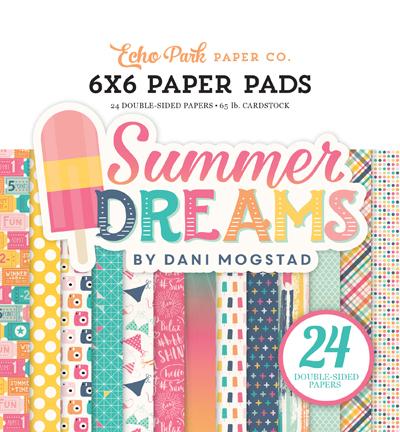 DR126023 Summer Dreams 6x6 Paper Pad