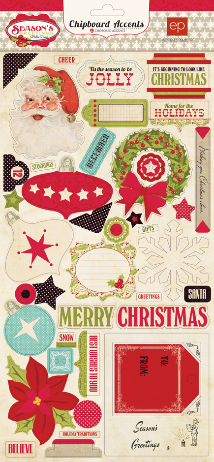 Collections Echo Park Paper Co Seasons Greetings