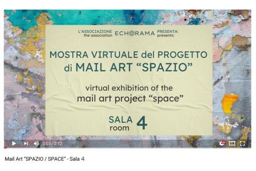 Video esposizione virtuale Mail Art Spazio - Sala 4