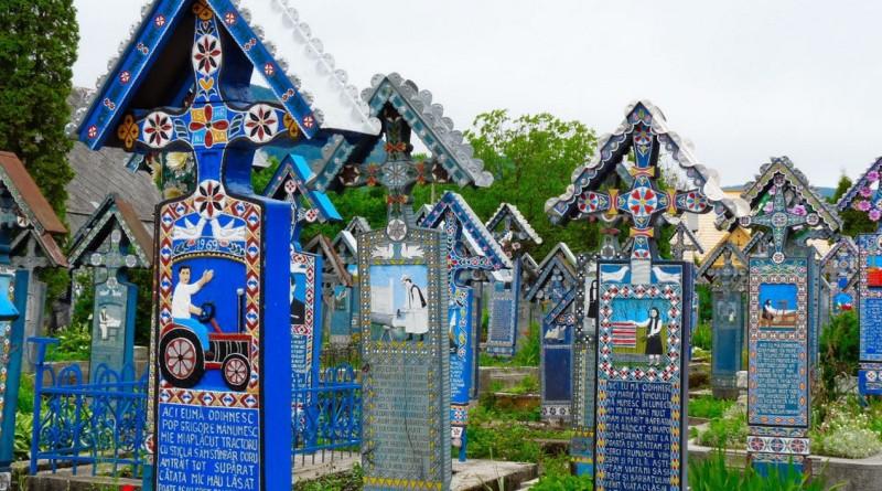 Le «cimetière joyeux» de Sapanta