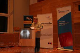 LSVD-Sprecher Hans-Jürgen Wolter eröffnet die Jahreskonferenz Echte Vielfalt