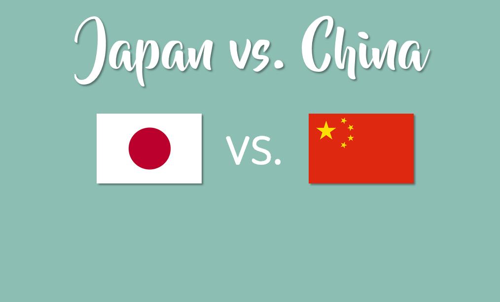 japan of china