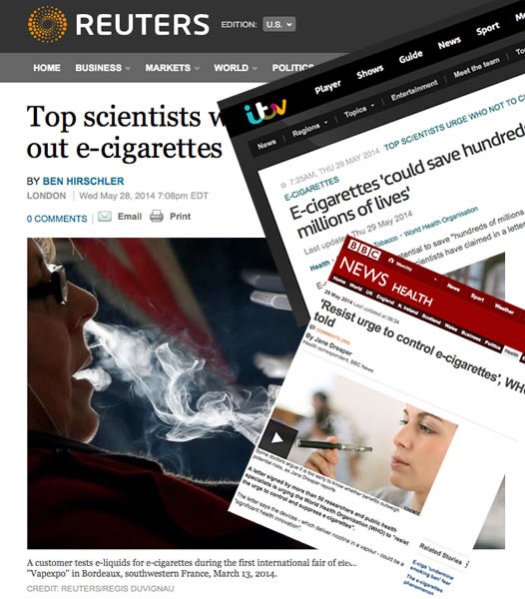 e cigarettes could save millions of lives