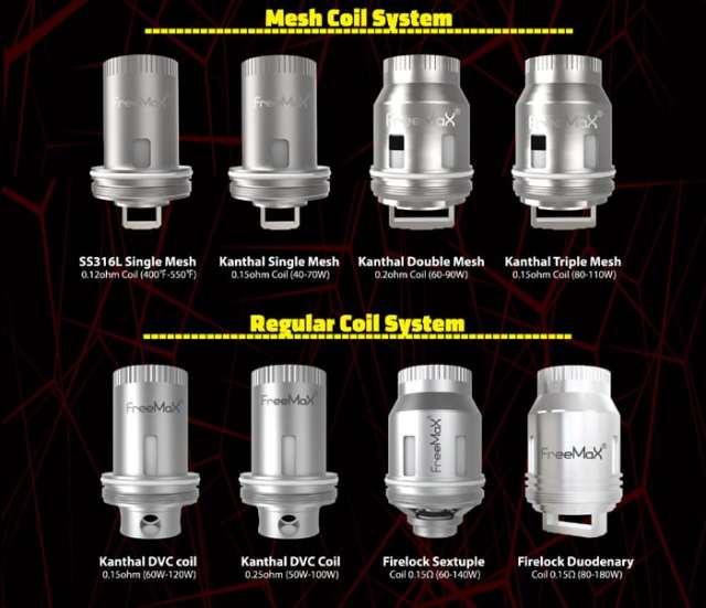 freemax coils
