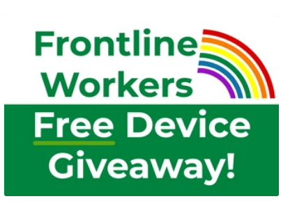vpz frontline workers giveaway