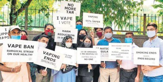 india pro vape protest