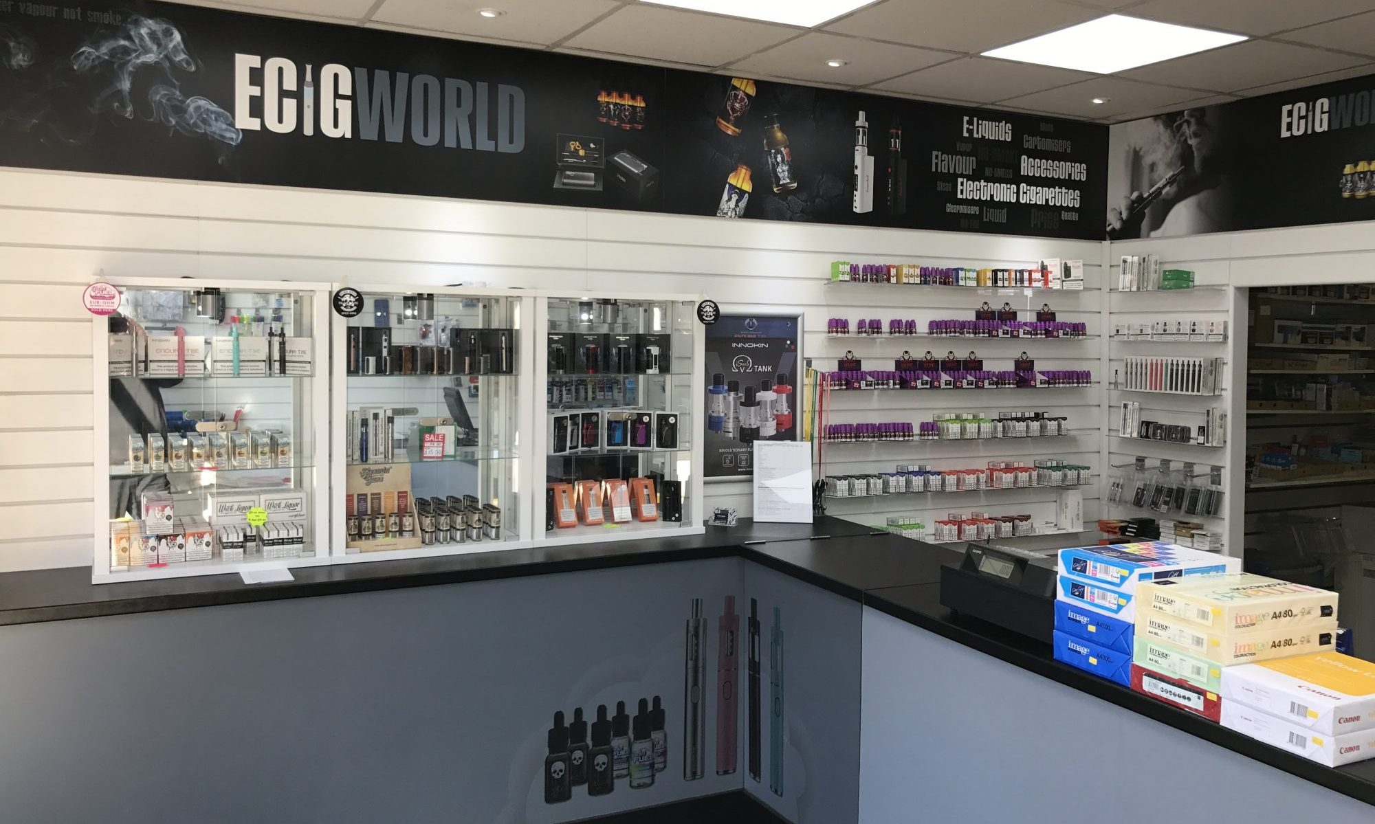 Large Eliquid and Ecig range in Wilmslow