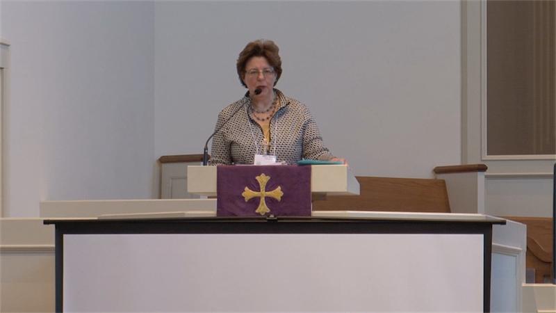 Moderator, Mary Martin