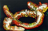Abstract Painting, Worm Wars, Tangled