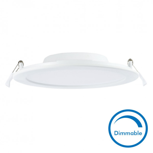 spot encastrable led 18w dimmable slim wave extra plat