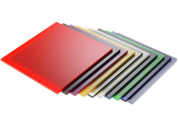 plexiglass colorato