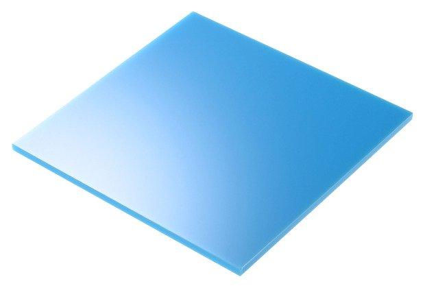 plexiglass azzurro taglio laser