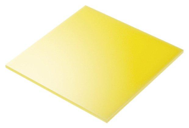 plexiglass giallo