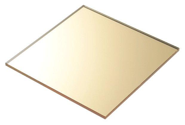 plexiglass specchiato oro