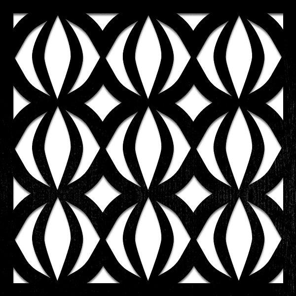 pattern 32 pannello decorativo taglio laser