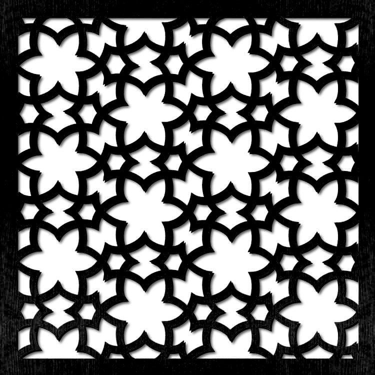 pattern 34 stelle pannello divisorio