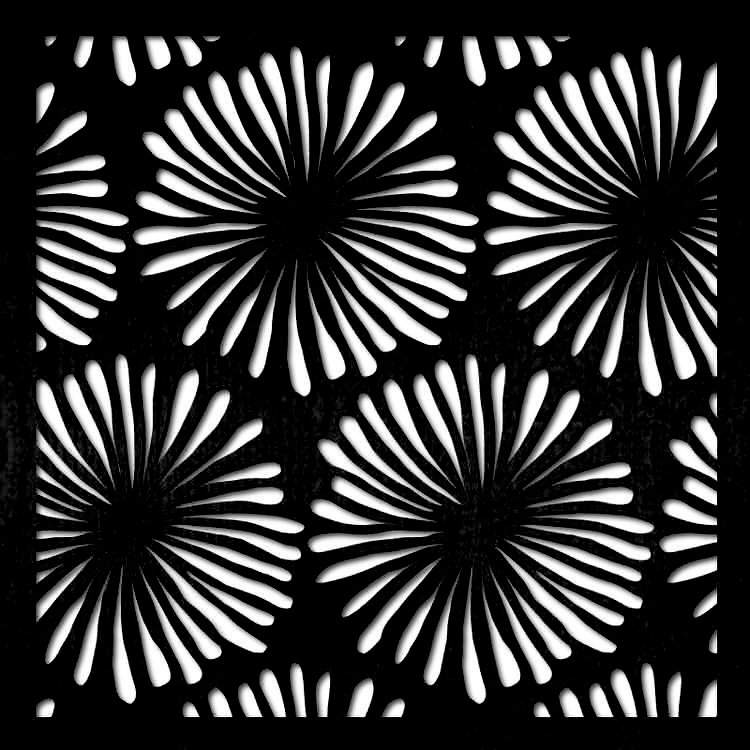 pattern 35 pannello taglio laser