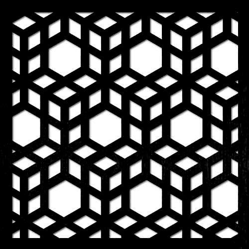 pattern 12 taglio laser