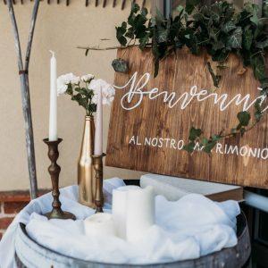allestimento matrimonio decorazione