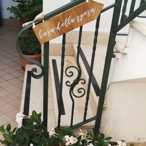 decorazione casa matrimonio