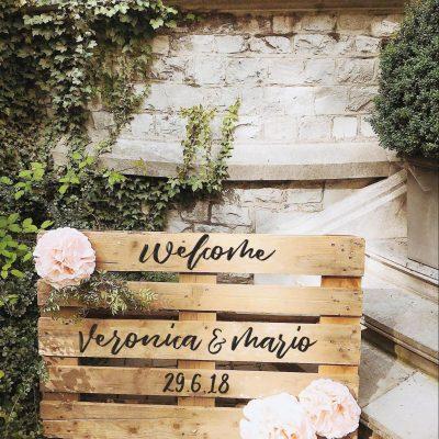 decorazione per matrimonio