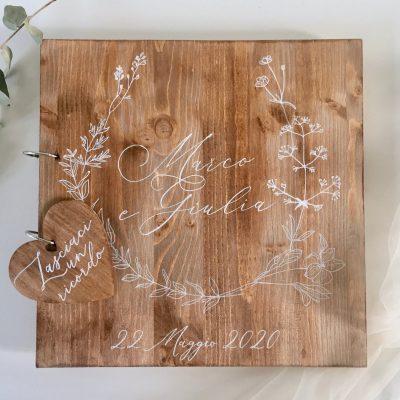 guest book matrimonio personalizzato