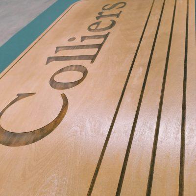 tagliere in legno professionale
