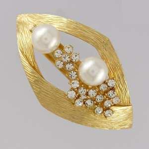 Grande barrette perle bijou Zoey