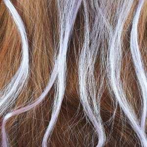 6 extensions mèche de cheveux – Parme
