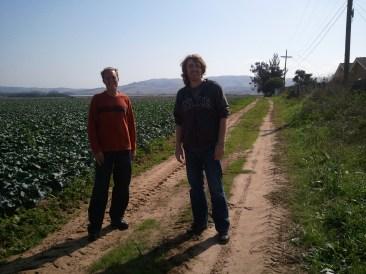 Bronson & Jonathan in Santa Maria