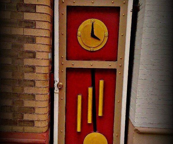 Wheeling WV Door EclecticEvelyn.com