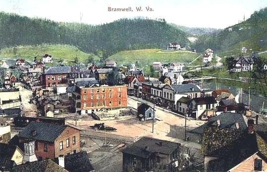 TownBramwell WV 1909