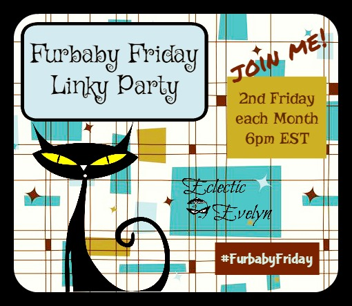 Furbaby Friday Linky Party Badge