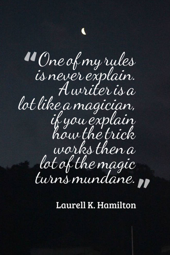 Laurell K. Hamilton Women Writers Writing EclecticEvelyn.com