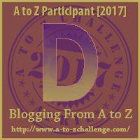D #AtoZChallenge EclecticEvelyn.com