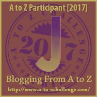 J #AtoZChallenge EclecticEvelyn.com