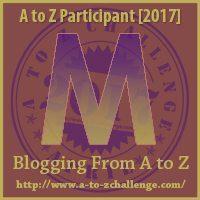 M #AtoZChallenge EclecticEvelyn.com