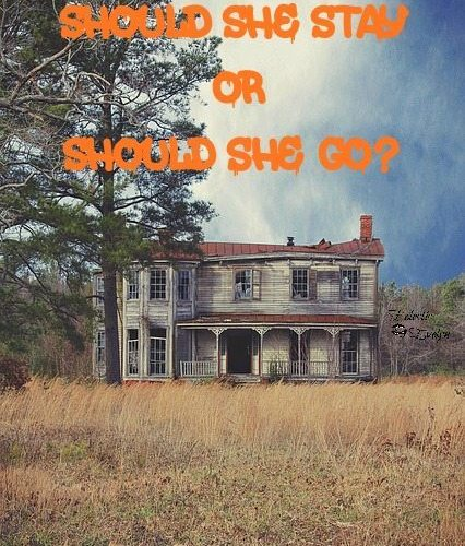 Should She Stay or Should She Go? EclecticEvelyn.com