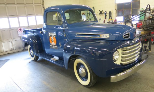 1948 Ford F1 – arrival