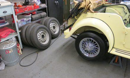 Wire Wheel Conversion
