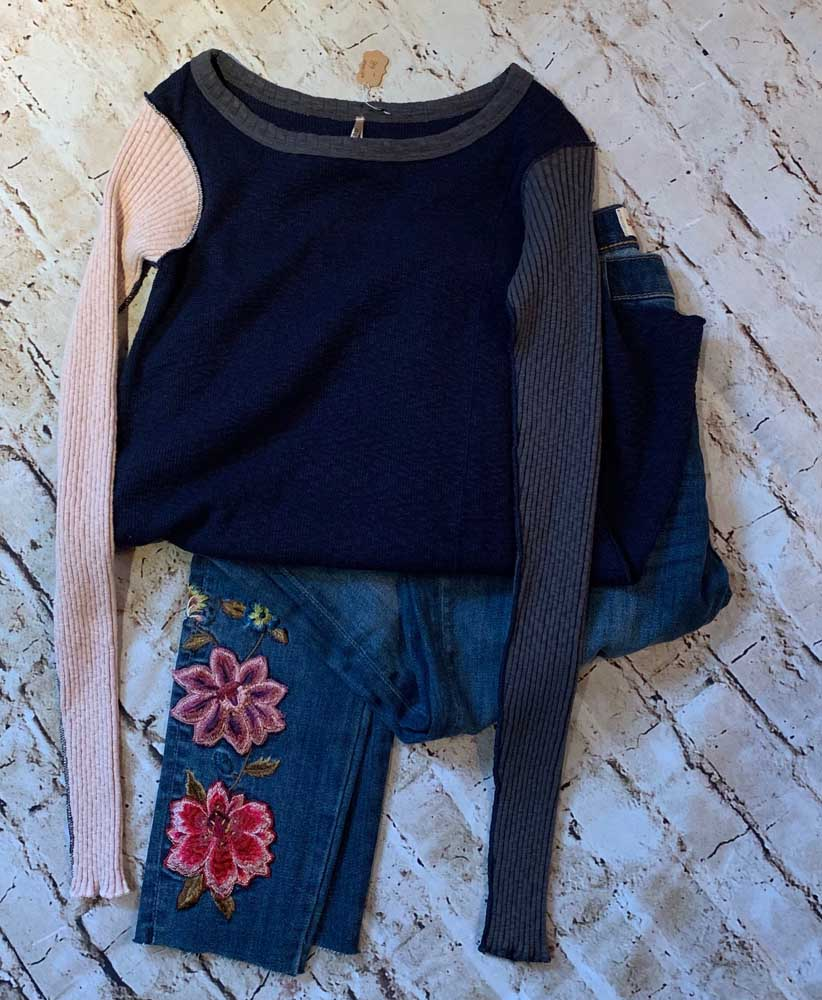 Driftwood – Embroidered Jeans