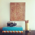 Aymie Spitzer and her beautiful wooden maps