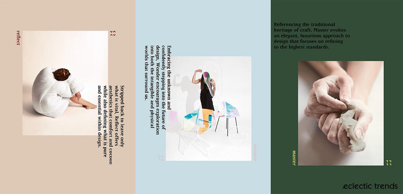 4 Interior Design Trends 2018-19 via Eclectic Trends