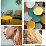 Color Inspiration No.3: Teal, Terracotta and Gold