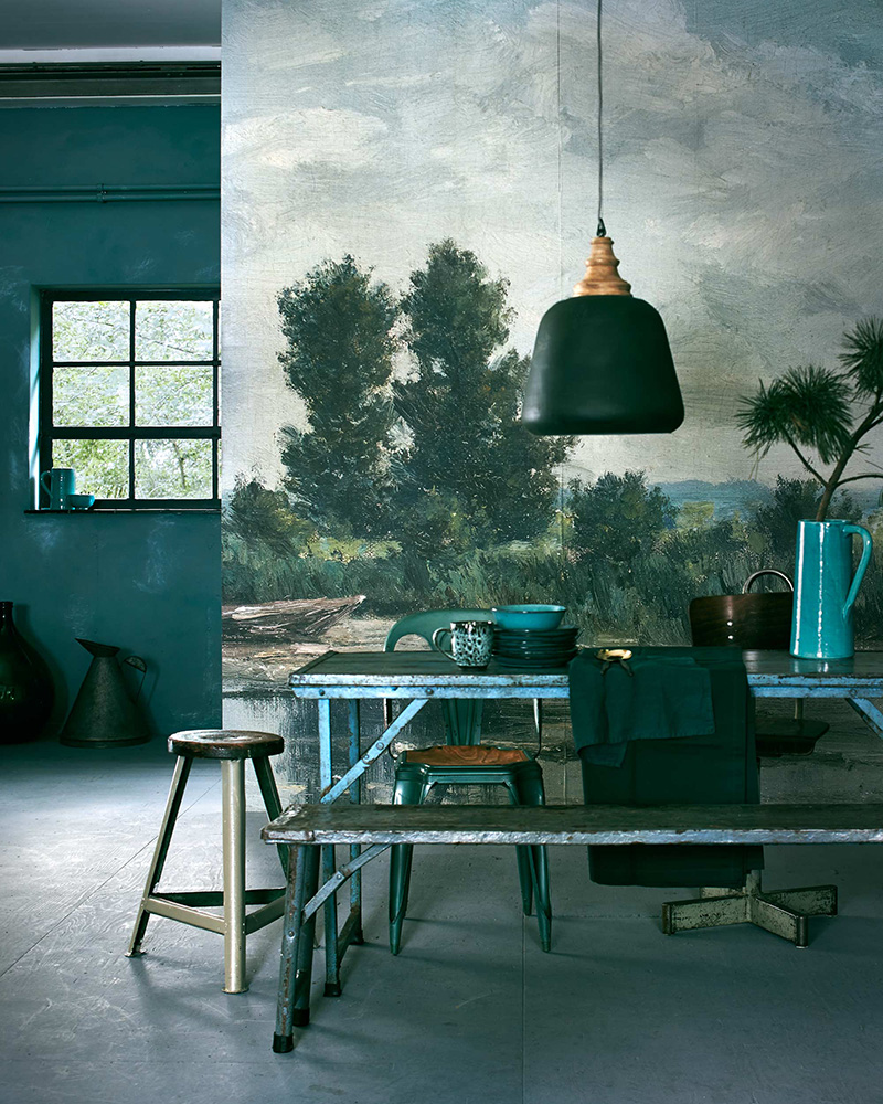 Eclectic Trends | A green interior styling session