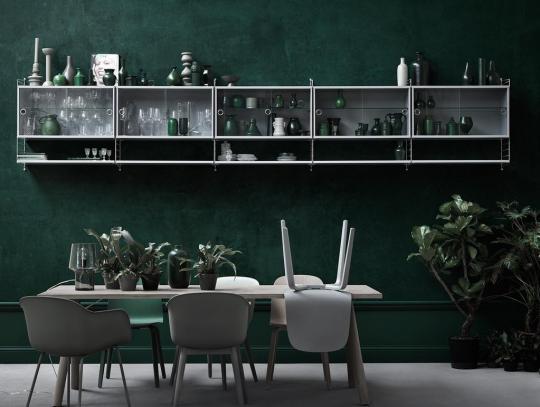It's trending: 10 examples of Green Walls- Eclectic Trends