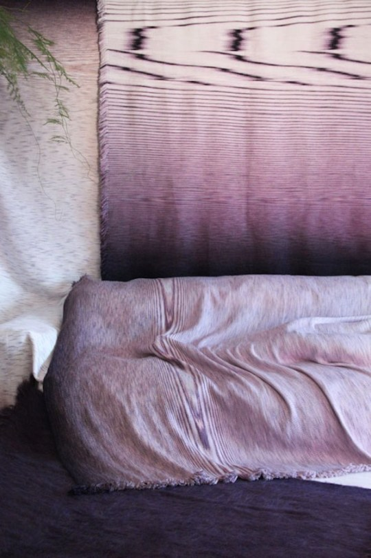 Wooden Textiles by buro BELÉN-Eclectic Trends #textiles